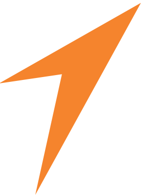 orange logo mark